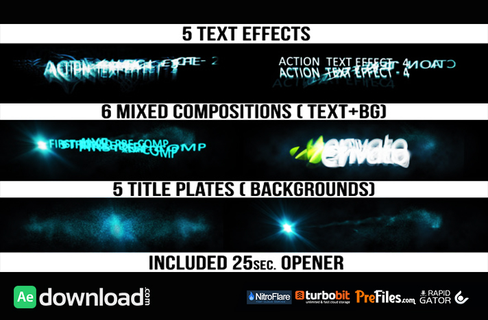 Titles » page 7 » free after effects templates | after ...