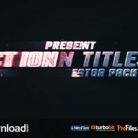 ACTION TITLES TRAILER CREATOR (VIDEOHIVE PROJECTS) – FREE DOWNLOAD