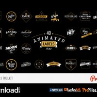 ANIMATED LABELS TOOLKIT (VIDEOHIVE PROJECT) – FREE DOWNLOAD
