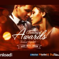 AWARDS CEREMONY (VIDEOHIVE PROJECT) – FREE DOWNLOAD