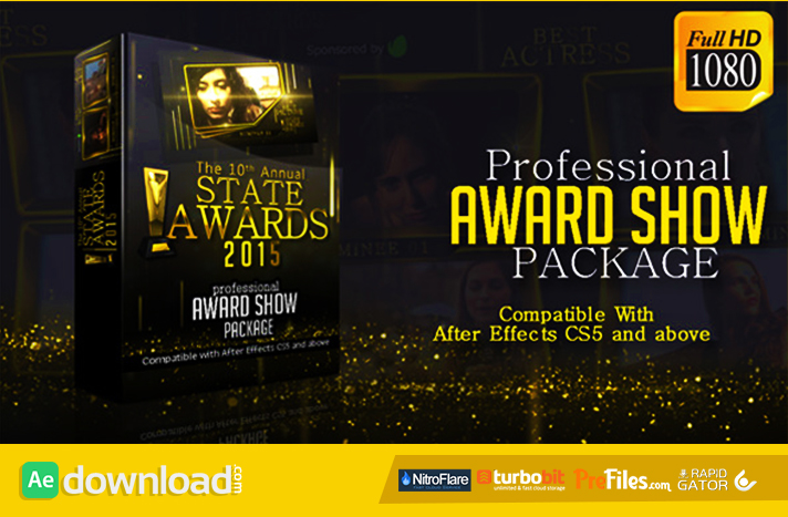 Awards Show Pack Free Download After Effects Templates