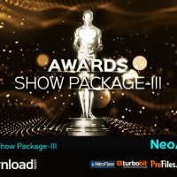 AWARDS SHOW PACKAGE III (VIDEOHIVE PROJECT) – FREE DOWNLOAD