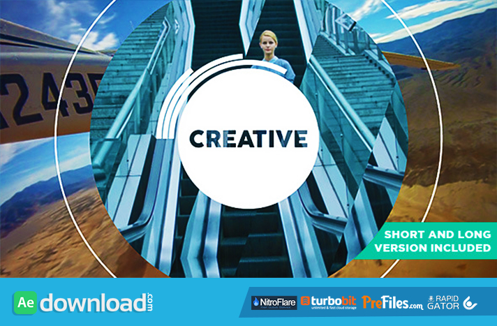 Be Creative - Fast Dynamic Opener Free Download After Effects Templates