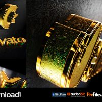 BLACK GOLD LOGO V2 (VIDEOHIVE PROJECT) – FREE DOWNLOAD