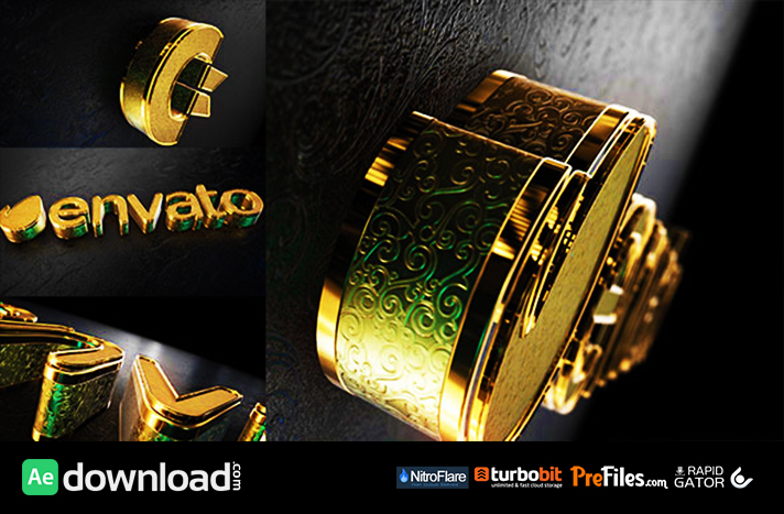 Black Gold Logo V2 Free Download After Effects Templates