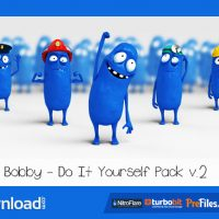 BOBBY – CHARACTER ANIMATION DIY PACK – (VIDEOHIVE TEMPLATE) – FREE DOWNLOAD