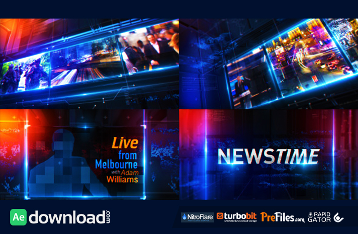 Broadcast News Package Free Download After Effects Templates