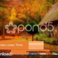 CORPORATE LOWER THIRD PACK – FREE DOWNLOAD