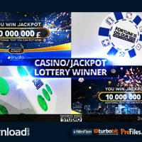CASINO JACKPOT LOTTERY WINNER (VIDEOHIVE PROJECT) – FREE DOWNLOAD