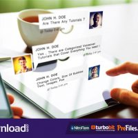 CHAT MESSAGES PACK – (VIDEOHIVE TEMPLATE) – FREE DOWNLOAD
