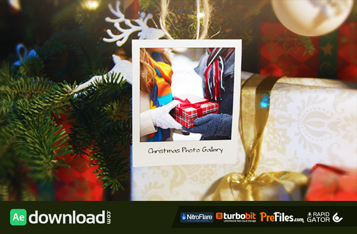 Christmas and New Year Photo Gallery Free Download After Effects Templates