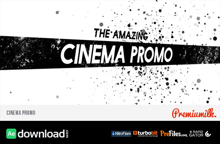 Cinema Promo Free Download After Effects Templates