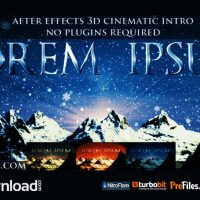 CINEMATIC OPENER – LOREM IPSUM (VIDEOHIVE) – FREE DOWNLOAD