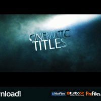 CINEMATIC TITLE (VIDEOHIVE PROJECT) – FREE DOWNLOAD