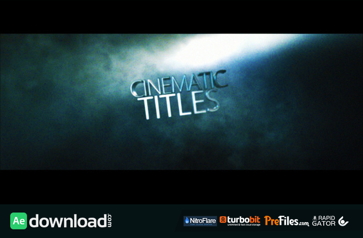 cinematic title free download after effects templates
