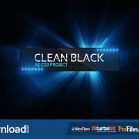 VIDEOHIVE CLEAN BLACK PRESENTATION – FREE DOWNLOAD