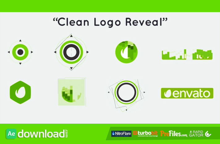 Clean Logo Reveal Free Download After Effects Templates