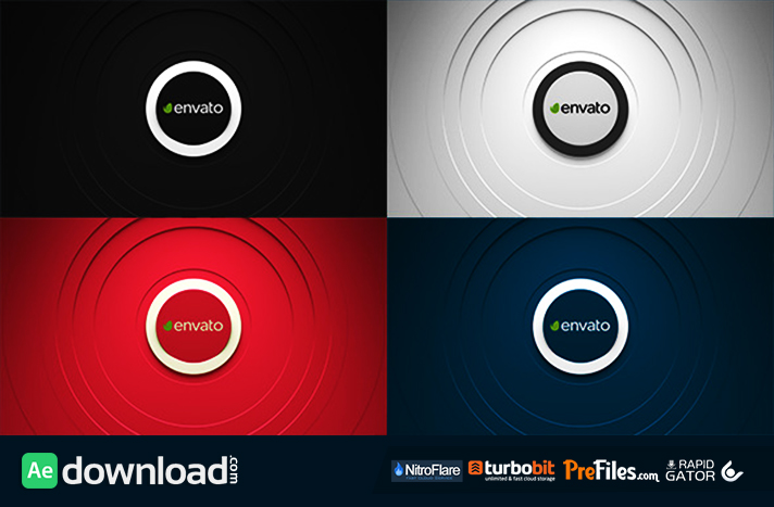 Clean Sound - Logo Reveal Free Download After Effects Templates