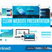 CLEAN WEBSITE PRESENTATION 2 IN 1 (VIDEOHIVE PROJECT) – FREE DOWNLOAD