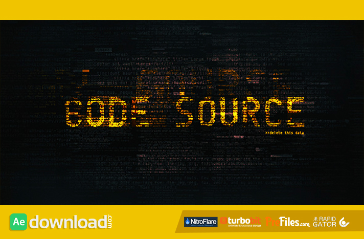 Code Source Free Download After Effects Templates