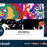 COLORFUL LOGO REVEAL (VIDEOHIVE) – FREE DOWNLOAD