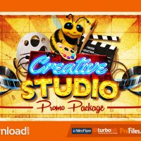 CREATIVE STUDIO PROMO PACKAGE – (VIDEOHIVE TEMPLATE) – FREE DOWNLOAD