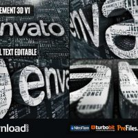 CREATIVE WORDS LOGO REVEAL (VIDEOHIVE PROJECT) – FREE DOWNLOAD