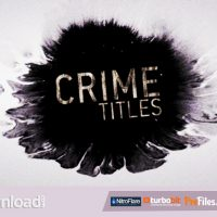 CRIME TITLES (VIDEOHIVE) – FREE DOWNLOAD