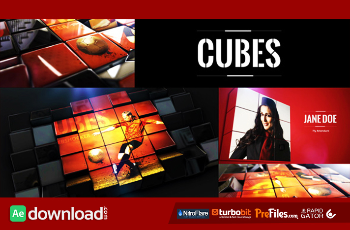 Cubes Free Download After Effects Templates