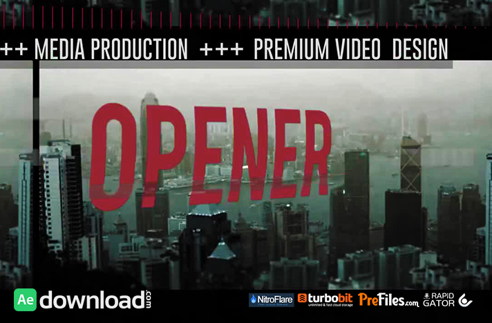DYNAMIC MEDIA OPENER 2 Free Download After Effects Templates