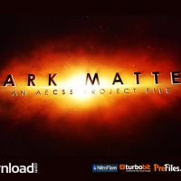 DARK MATTER – (VIDEOHIVE TEMPLATE) – FREE DOWNLOAD