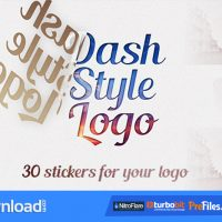 DASH STYLE LOGO – (VIDEOHIVE TEMPLATE) – FREE DOWNLOAD