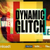 VIDEOHIVE DYNAMIC GLITCH – FREE DOWNLOAD