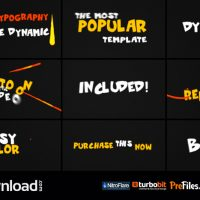 VIDEOHIVE DYNAMIC LIQUID TYPOGRAPHY – FREE DOWNLOAD