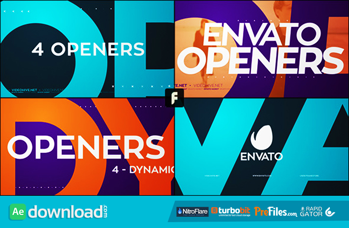 Dynamic Openers Free Download After Effects Templates