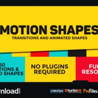 DYNAMIC SHAPES – ANIMATED SHAPE LAYER ELEMENTS (VIDEOHIVE PROJECT) – FREE DOWNLOAD