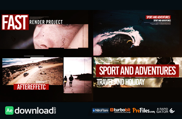 Dynamic Slide V2 Free Download After Effects Templates