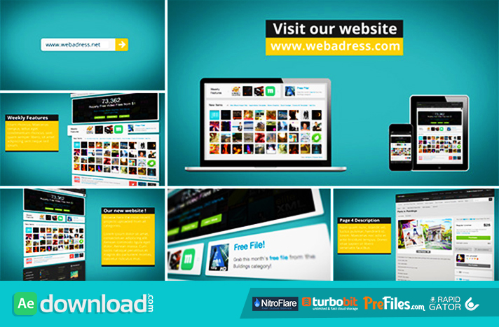 DYNAMIC WEBSITE PROMOTION (VIDEOHIVE) - FREE DOWNLOAD - Free After ...