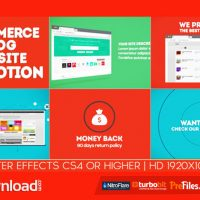 E-COMMERCE / BLOG / WEBSITE PROMOTION (VIDEOHIVE) – FREE DOWNLOAD