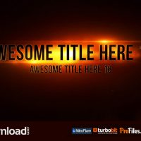 EPIC TITLES (MOTION ARRAY) – FREE DOWNLOAD
