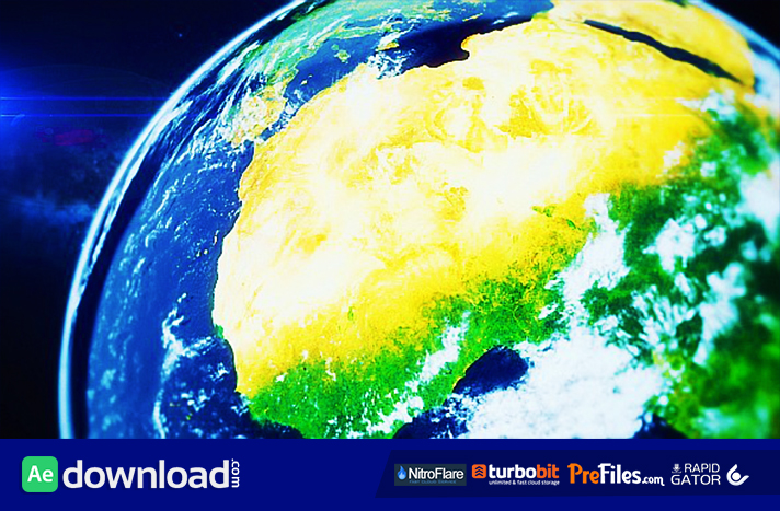 Earth Zoom (6 Pack) Free Download After Effects Templates