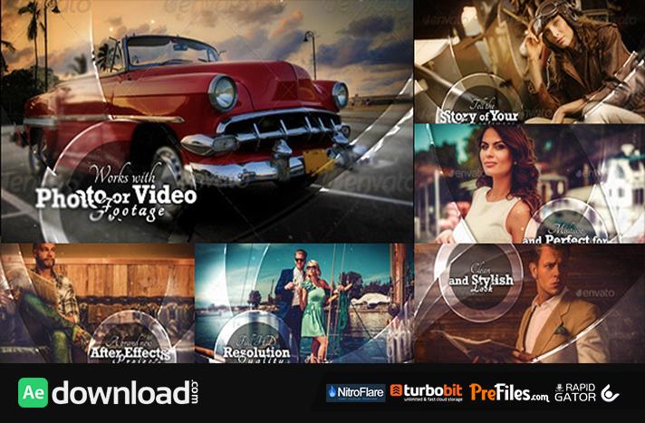 Elegant Art Slide Show Free Download After Effects Templates