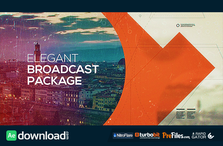 ELEGANT BROADCAST PACKAGE (VIDEOHIVE PROJECT) - FREE