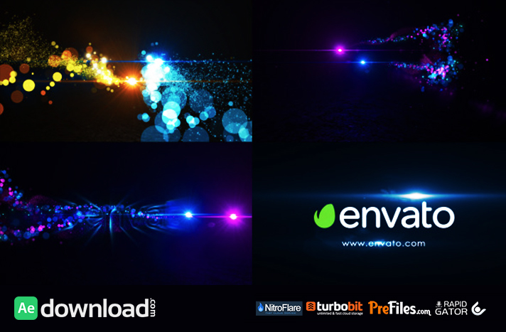 Elegant Particle Logo Free Download After Effects Templates
