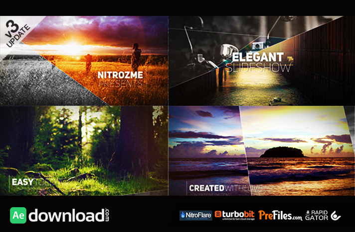 ELEGANT SLIDESHOW 11657894 (VIDEOHIVE PROJECT) - FREE DOWNLOAD