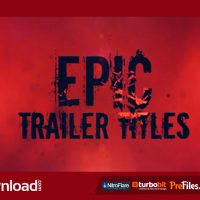 EPIC TRAILER TITLES (VIDEOHIVE) – FREE DOWNLOAD