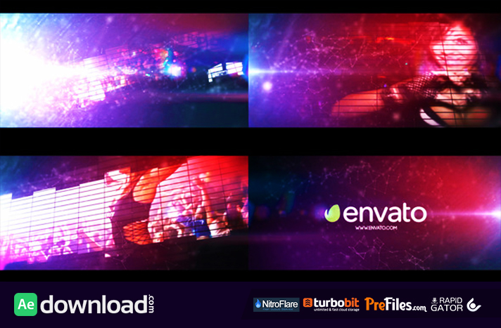 Equalizer Logo Intro Free Download After Effects Templates