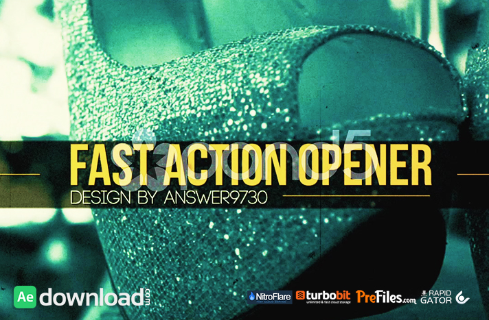 FAST ACTION OPENER Free Download After Effects Templates