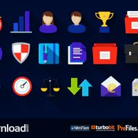 FLAT ICONS PACK (MOTION ARRAY) – FREE DOWNLOAD