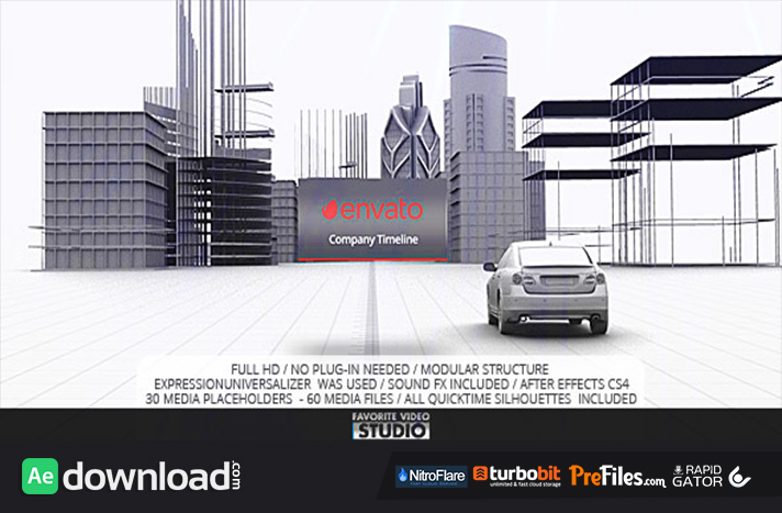 Favorite Company Timeline Free Download After Effects Templates